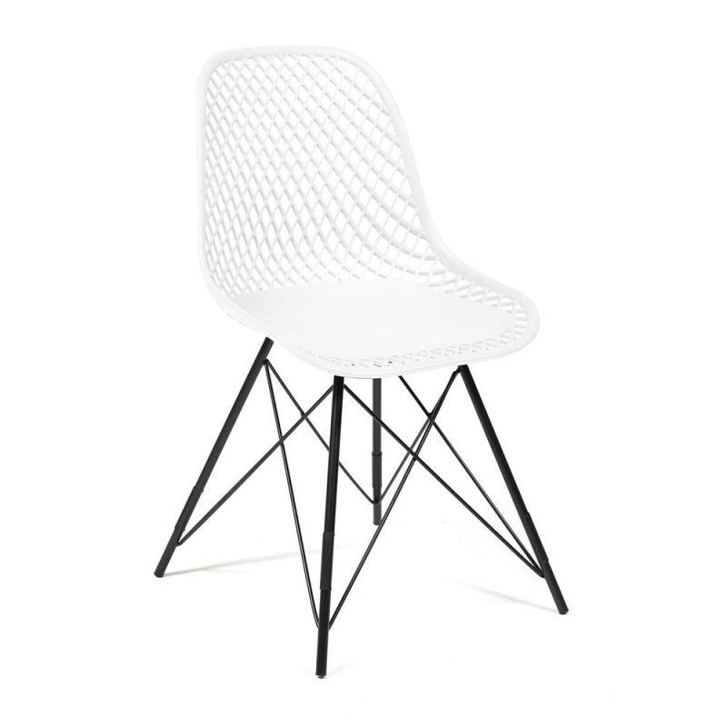 """Стул дизайнерский для дома и кафе """"Vincent"""" Белый"""