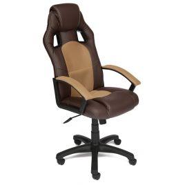 Кресло компьютерное DRIVER коричневый/бронза для офиса и дома