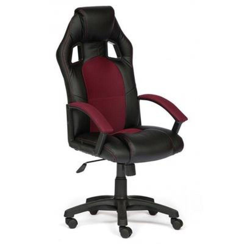 Кресло компьютерный DRIVER черный/бордо