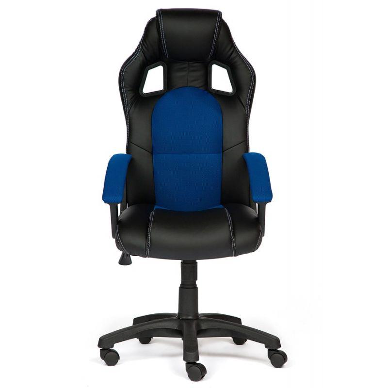 Кресло  компьютерное DRIVER Черный/синий для офиса и дома