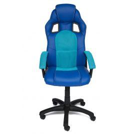 Кресло компьютерное офисное DRIVER Синий/бирюза