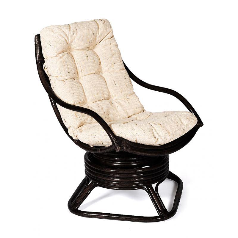Кресло-качалка ротанговое «Кози» (Cozy) (Антик Браун)