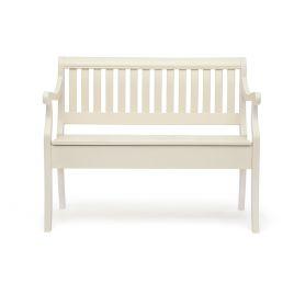 Скамья с ящиком «Медичи» (Medichi) Молочный (Белый)
