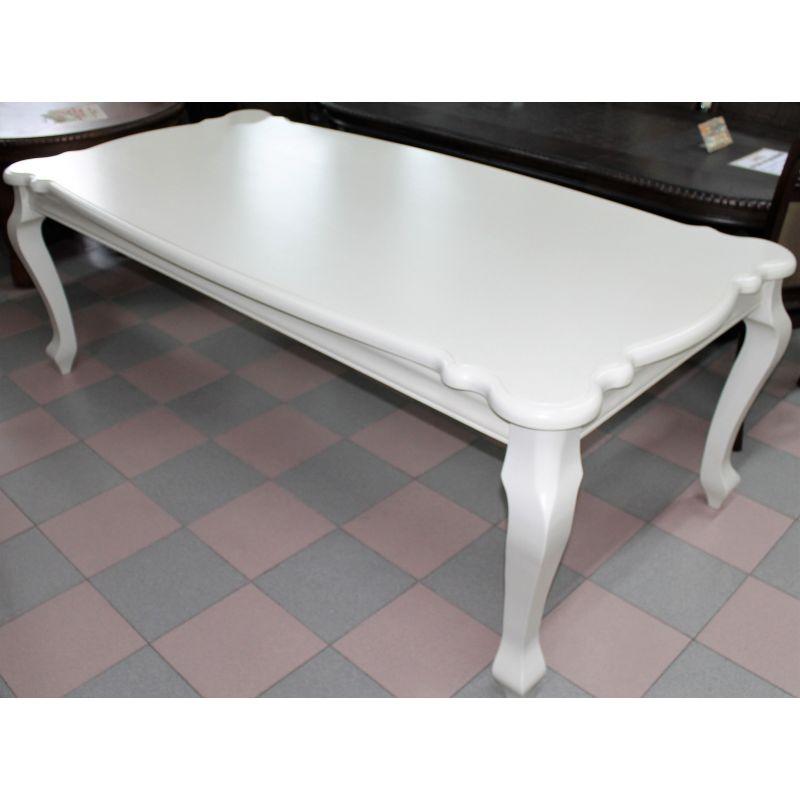 Стол обеденный деревянный прямоугольный AC3371T Жемчужный