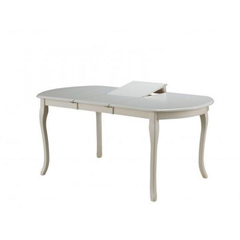 Стол обеденный деревянный прямоугольный Alicante AL-T3EX Молочный ( Белый)