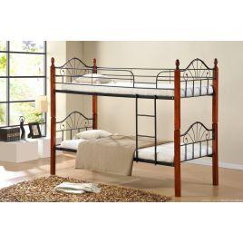 Кровать двухъярусная AT-9128 (метал. каркас)