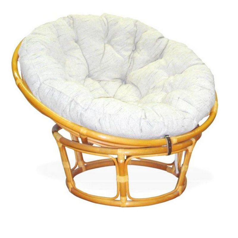Кресло из ротанга «Папасан» (Papasan D100) (Медовый)