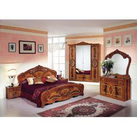 Спальный гарнитур 4-х дверный «Роза» Орех