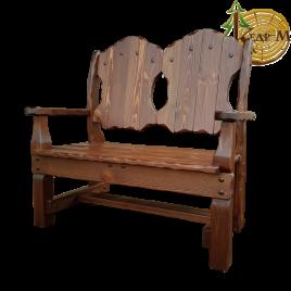 """Кресло - скамья """"Добряк"""" Старый Орех"""