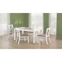 Белый стол из дерева: форма и дизайн