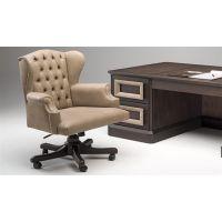 Бежевое кресло для руководителя - стиль и шик в одном флаконе