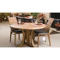 Круглый стол с деревянными ножками – выбираем вместе