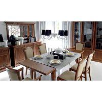 Коричневый обеденный стол и его основные особенности