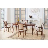 Овальные обеденные столы в классическом стиле
