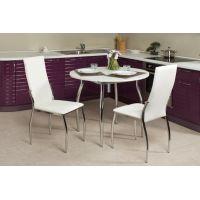 Как подобрать стулья к кухонному столу со стеклом?