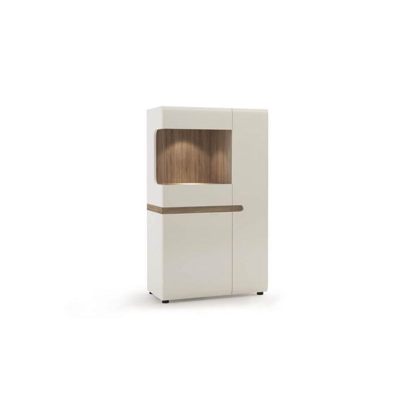 Витрина шкаф для посуды для гостиной Линате 3D-1S/TYP 32