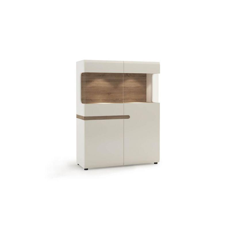Витрина шкаф для посуды Линате  3D-1S/TYP 33
