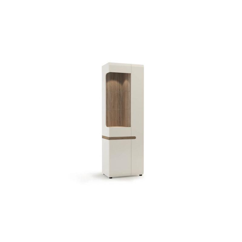 Витрина шкаф для посуды для гостиной Линате  3D/TYP 01L (левый)