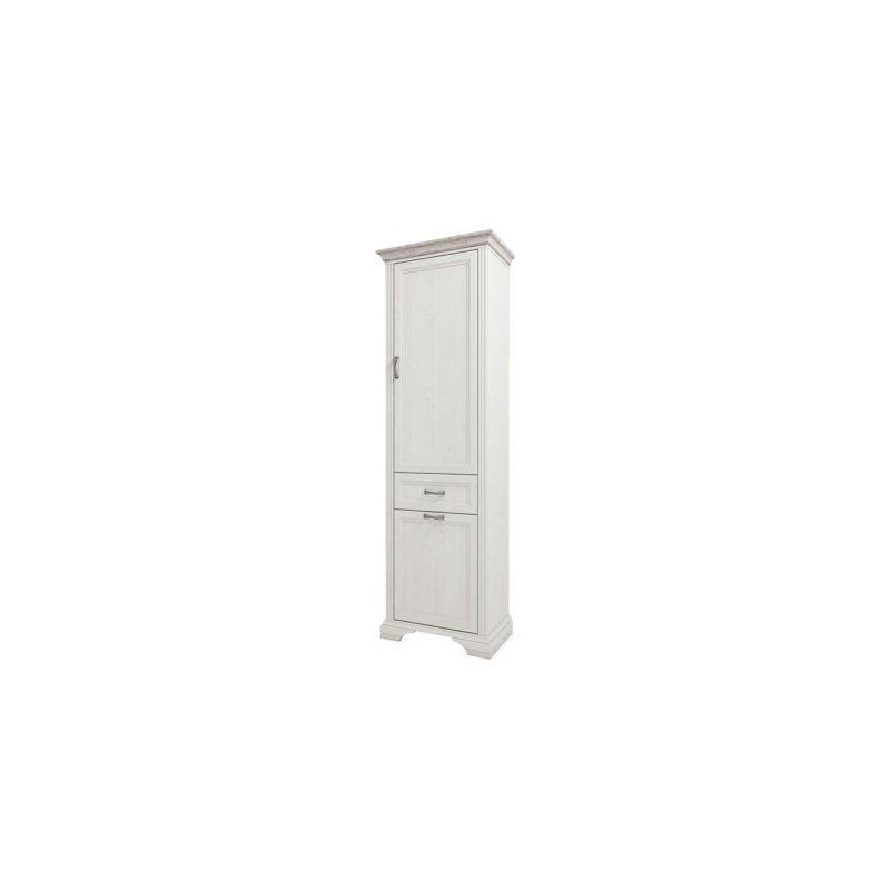 Шкаф-пенал для одежды Монако 2D1S