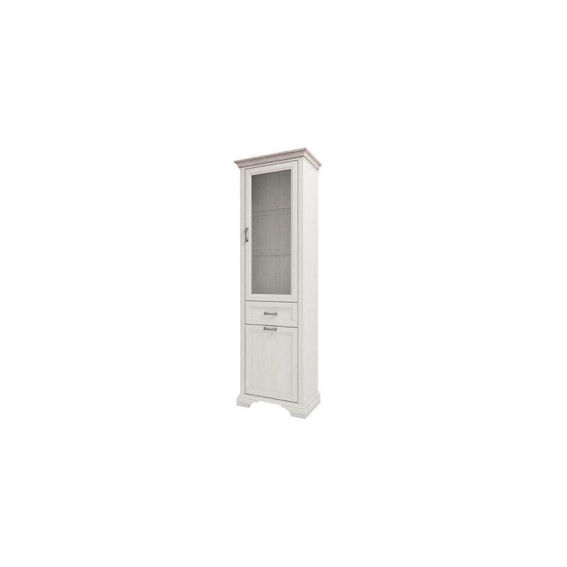 Шкаф-витрина Монако 1V1D1S