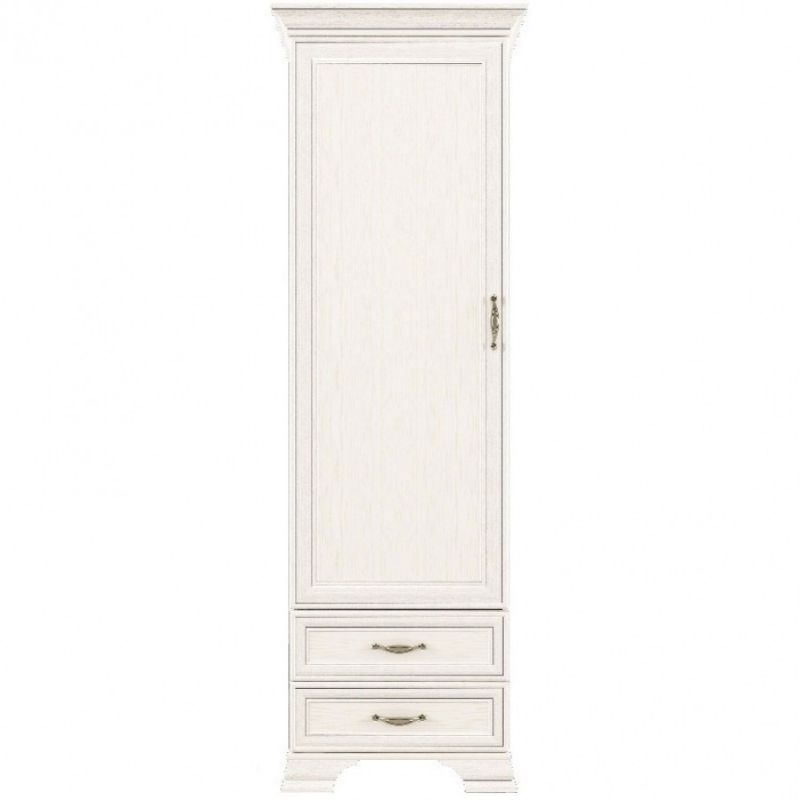 Шкаф распашной для спальни и гостиной Тиффани 1D2S крем вудлайн