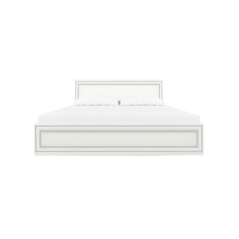 Кровать двуспальная Тиффани 160 Вудлайн кремовый с основанием