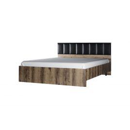 Кровать с металл. основанием JAGGER 160 М Дуб монастырский