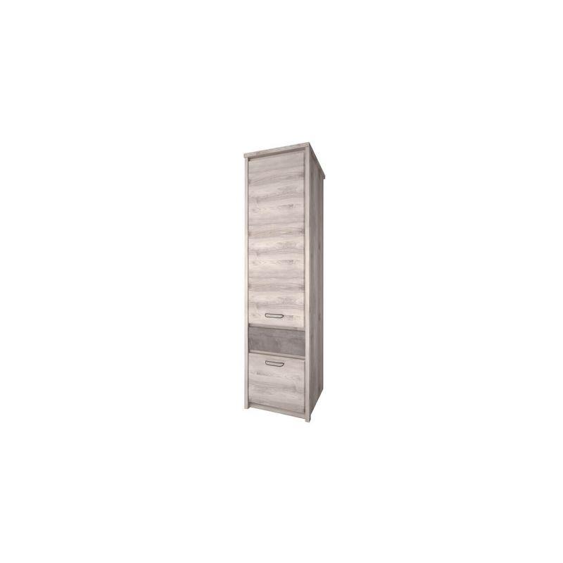 Шкаф-пенал для одежды Джаз 2D1S