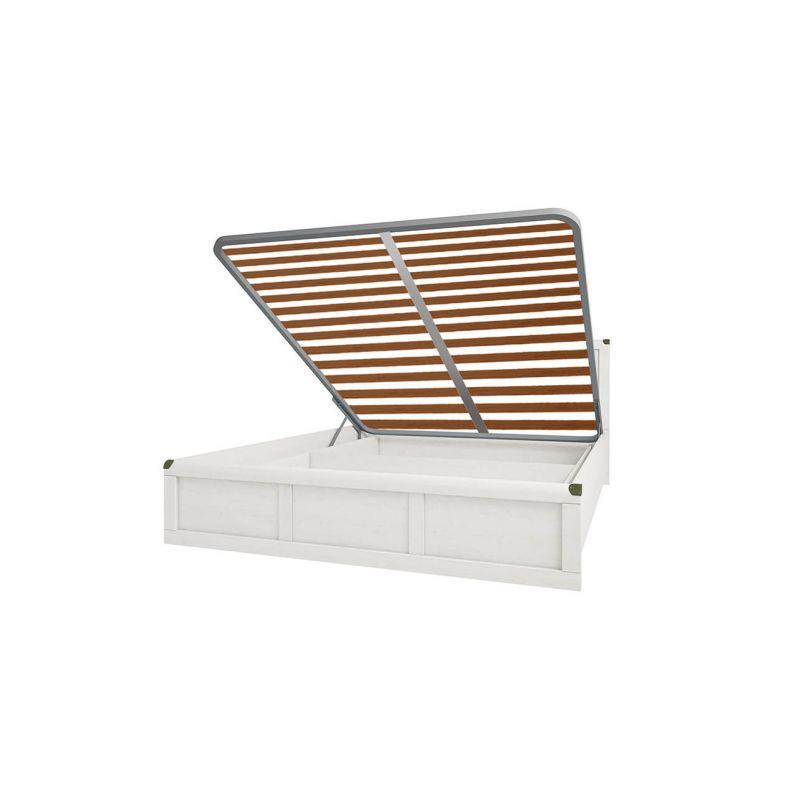 Кровать с подъемным механизмом MAGELLAN 160 ( Магеллан ) Сосна винтаж