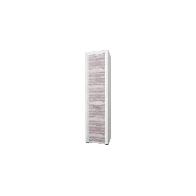 Шкаф-пенал распашной для одежды Оливия 1DG