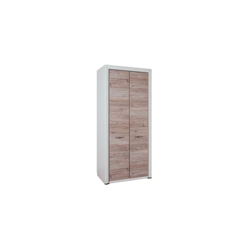 Шкаф распашной двухстворчатый для одежды  Оливия 2DG