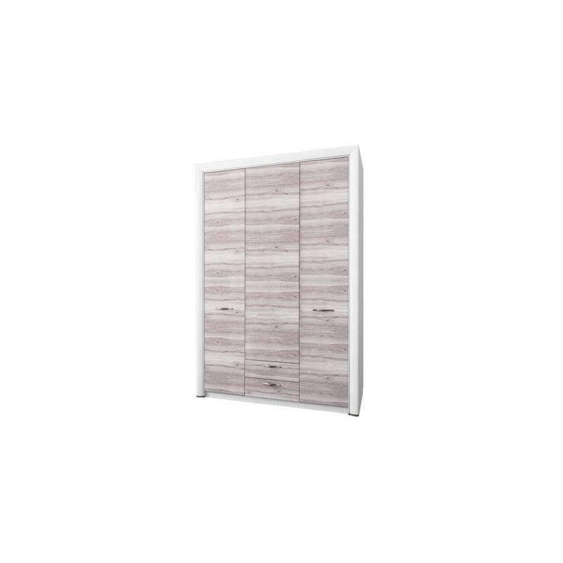 Шкаф трехстворчатый распашной для одежды  Оливия 3D2S