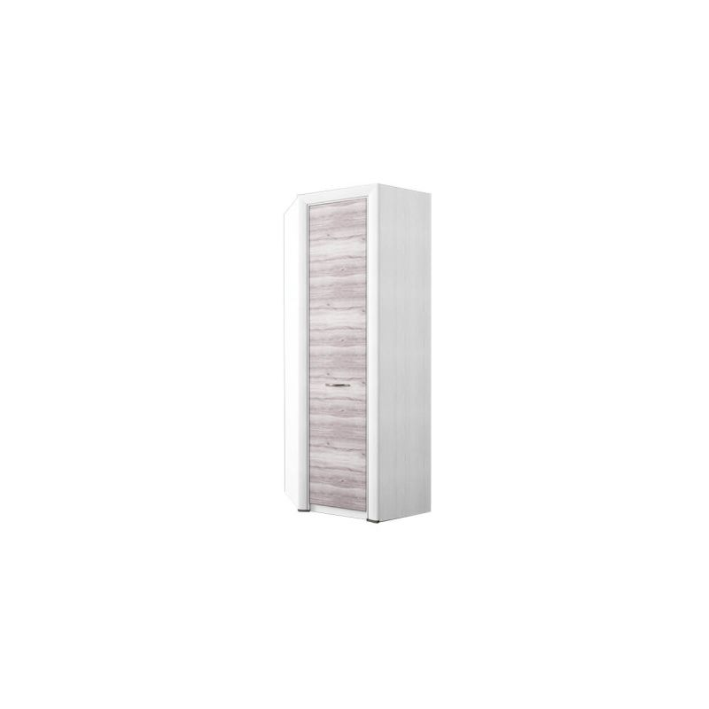 Угловой шкаф распашной для одежды Оливия 97x97