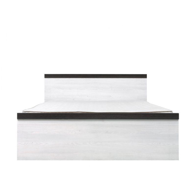 Кровать с мет. основанием ПОРТО LOZ140x200 Джанни / сосна ларико