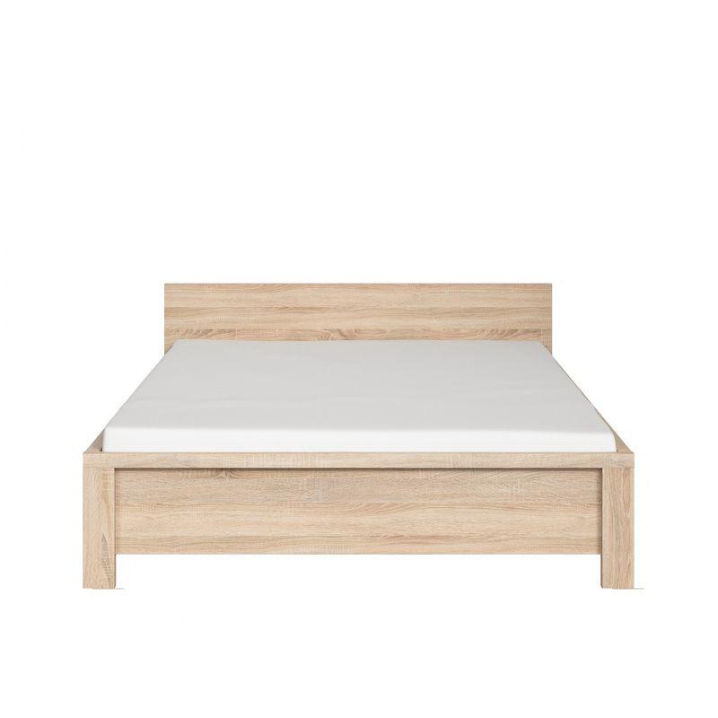 Кровать с мет. основанием КАСПИАН LOZ140х200 Дуб сонома