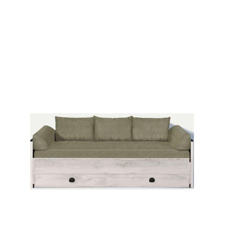 Кровать - диван ИНДИАНА JLOZ 80/160 Сосна каньйон