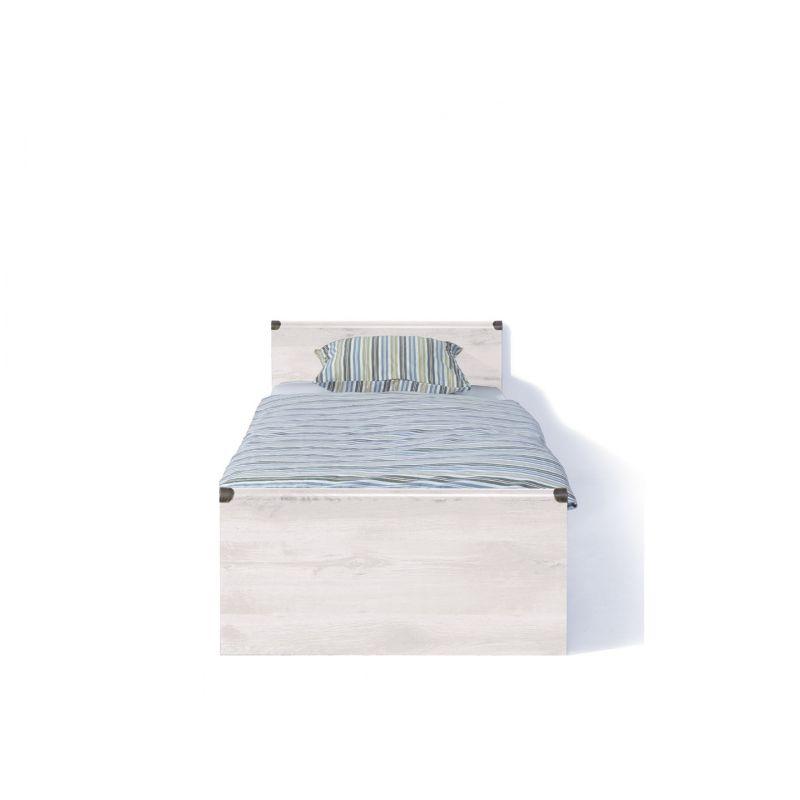 Кровать с основанием ИНДИАНА JLOZ 90 Сосна каньйон