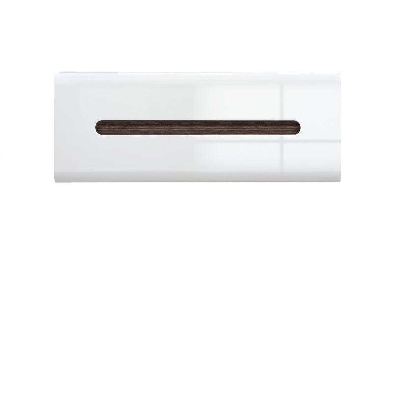 Шкаф настенный AZTECA (Ацтека) SFW1K/4/11 Белый глянец