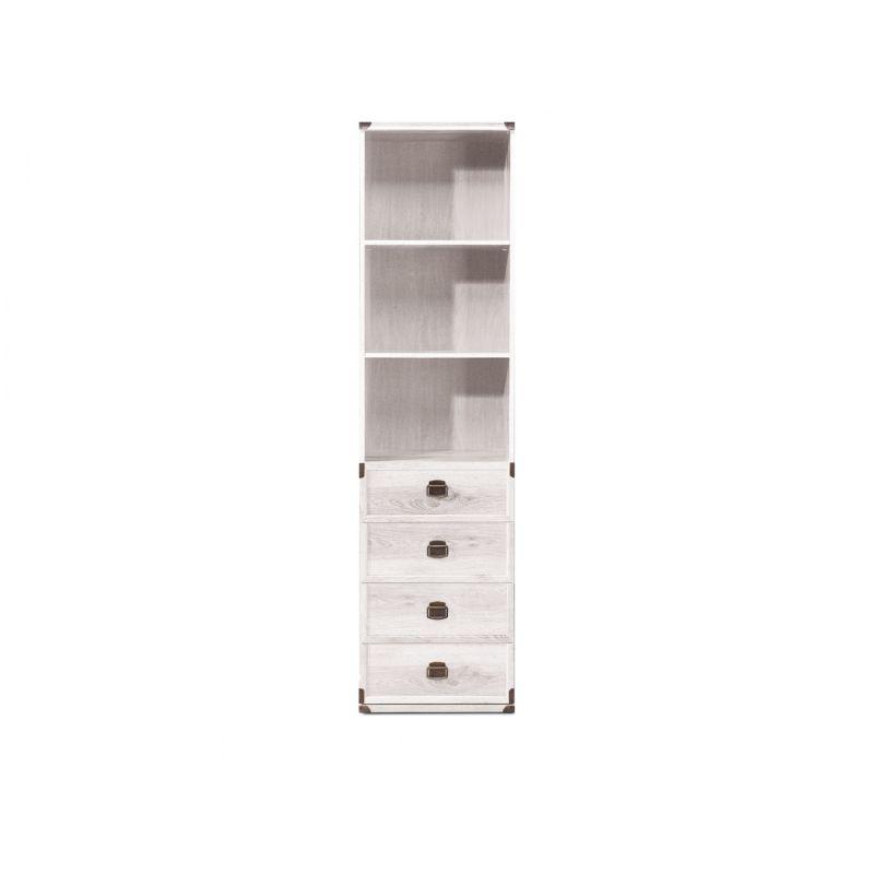 Шкаф комбинированный для гостиной ИНДИАНА JREG 4so/50 Сосна каньйон