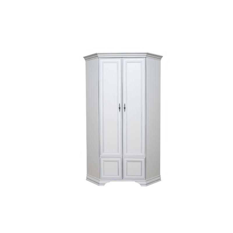 Шкаф угловой распашной для спальни и гостиной KENTAKI ( Кентаки ) SZFN2D Белый