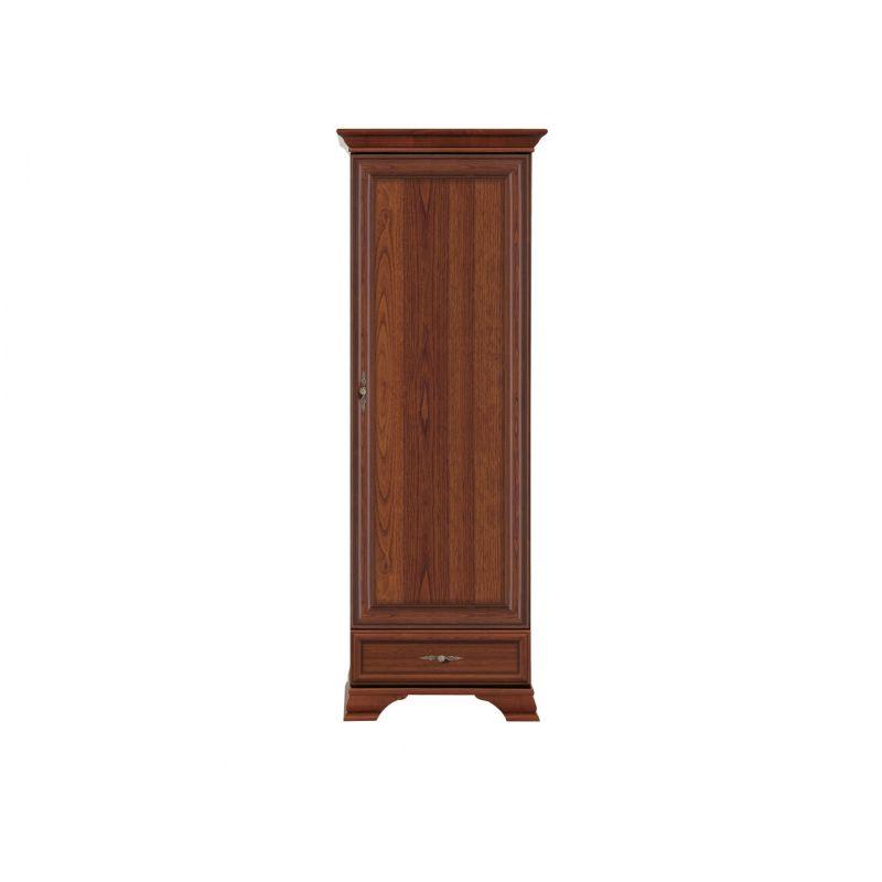 Шкаф пенал KENTAKI ( Кентаки ) REG1D1S Каштан для спальни и гостиной