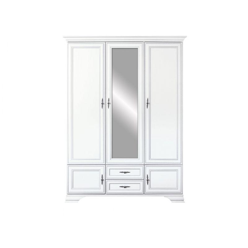 Шкаф распашной для спальни и прихожей KENTAKI ( Кентаки ) SZF5D2S Белый