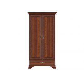 Шкаф распашной для спальни и прихожей KENTAKI ( Кентаки ) SZF 2D1S Каштан