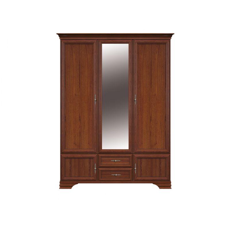 Шкаф распашной для спальни и прихожей KENTAKI ( Кентаки ) SZF5D2S Каштан