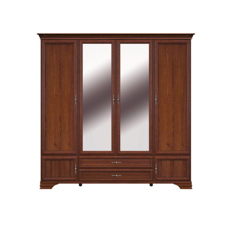 Шкаф распашной для спальни и гостиной KENTAKI ( Кентаки ) SZF6D2S Каштан