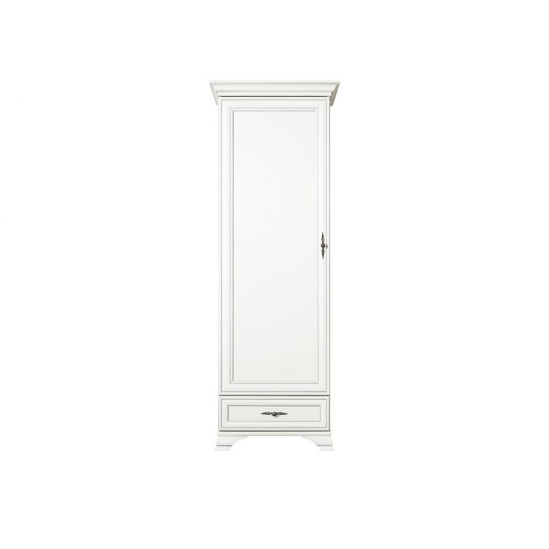 Шкаф пенал распашной KENTAKI ( Кентаки ) REG1D1S Белый
