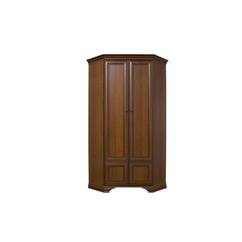 Шкаф угловой распашной для спальни и гостиной KENTAKI ( Кентаки ) SZFN2D Каштан
