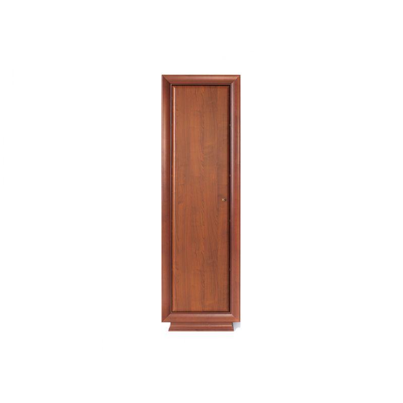 Шкаф пенал распашной LARGO CLASSIC 1D Вишня для спальни и гостиной