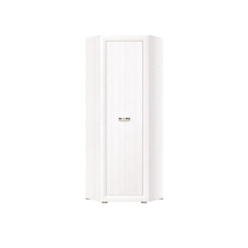Шкаф угловой для спальни и гостиной MALTA SZFN1D Лиственница сибирская / орех лион