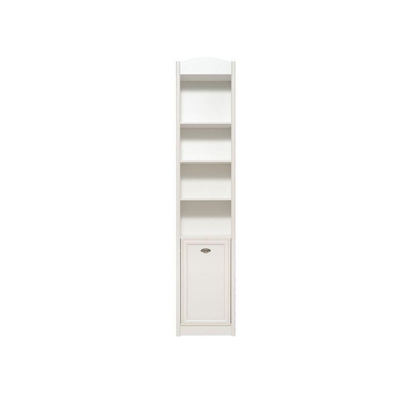 Шкаф стеллаж SALERNO REG 1DP (Правый) Белый